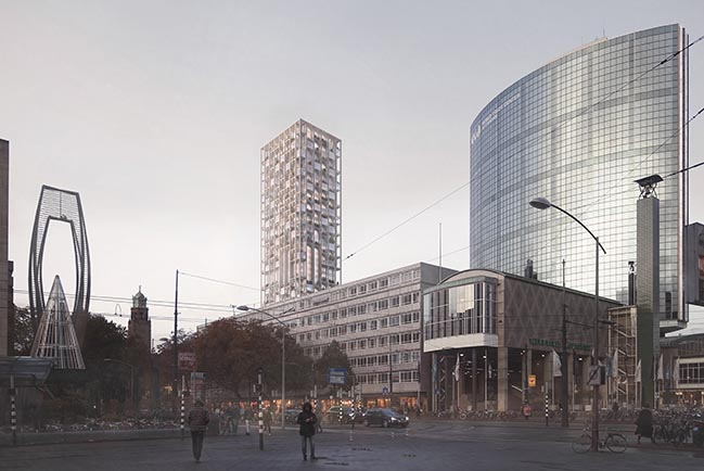 ODA New York tapped for Rotterdam's Historical Postkantoor