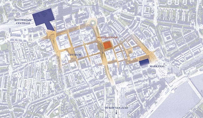 ODA New York tapped for Rotterdams Historical Postkantoor