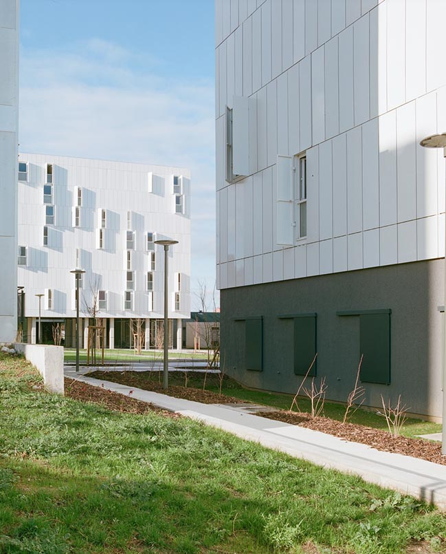 Olympe de Gouges University Residence by ppa • architectures