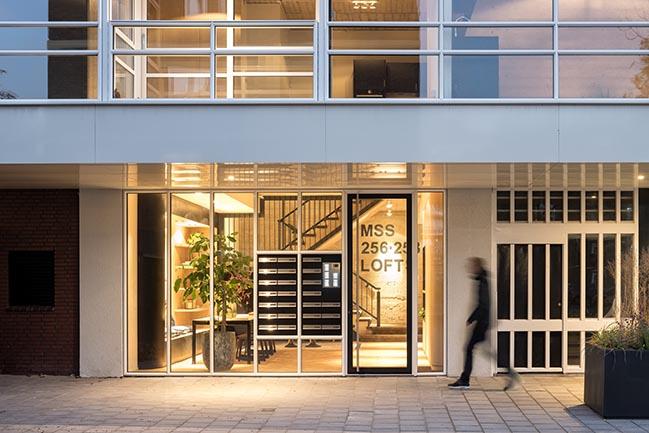 Urban lofts in Amsterdam by Bureau Fraai