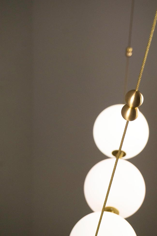 Larose Guyon unveil a unique luminaire fusion of jewellery and light