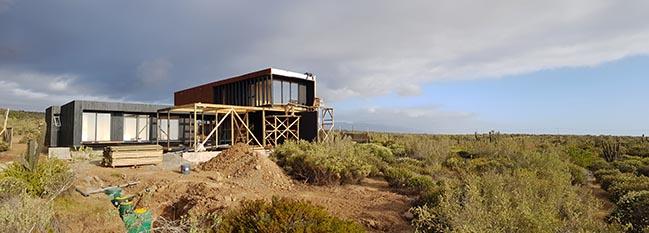 House AD-01 by Díaz Fernández Architects
