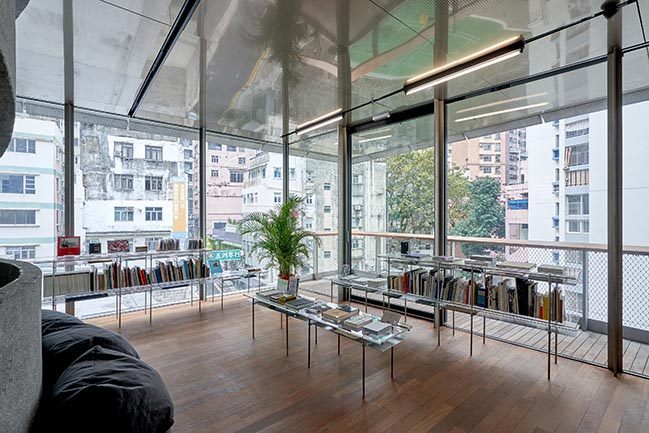 Tai Kwun Contemporary Artist Books Library by Napp Studio