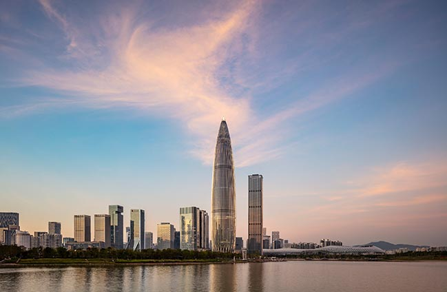 KPF completes landmark office tower in Shenzhen