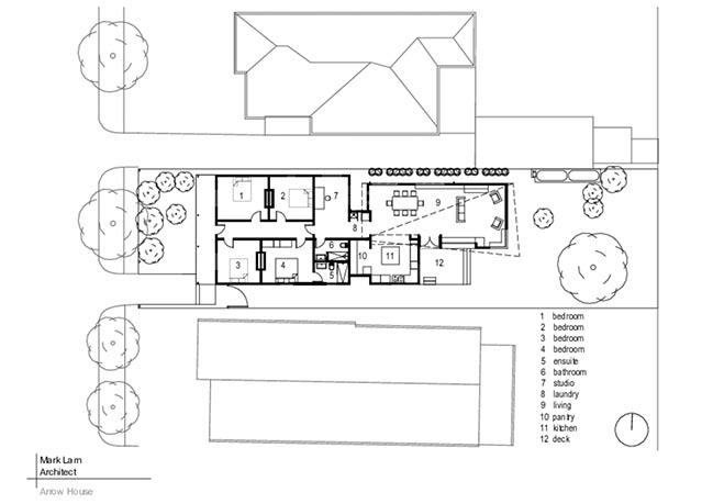 Arrow House in Footscray by Mark Lam Architect