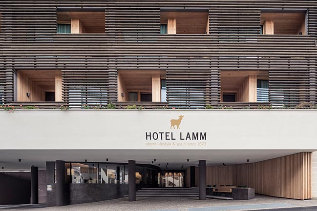 The Lamm Hotel by Senoner Tammerle Architekten