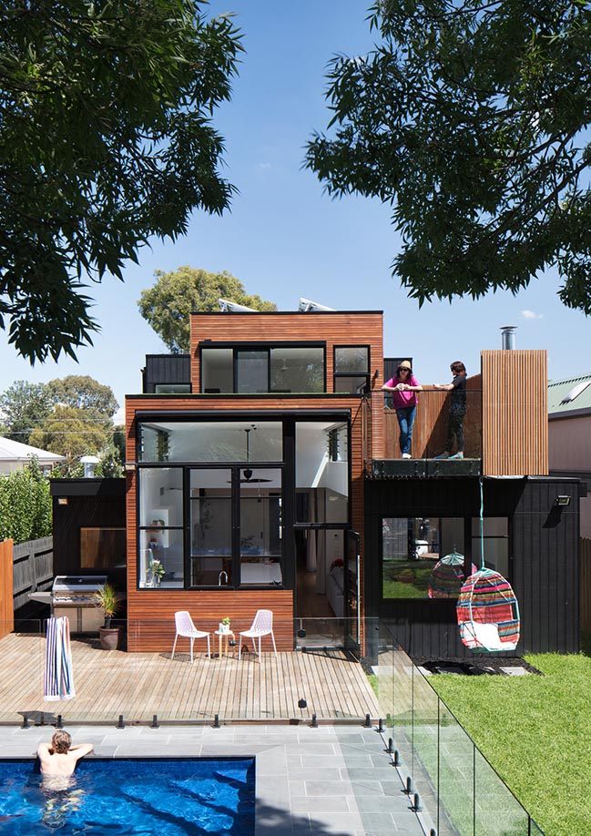 Treetop House in Melbourne by Ben Callery Architects