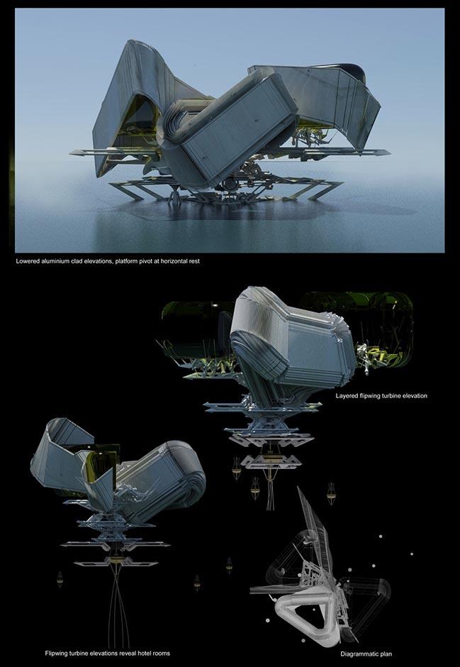 LightHouse Hotel by Margot Krasojević Architecture