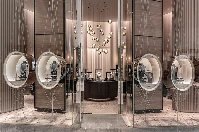 The Burma jewelry boutique in the Dubai Mall by Atelier Du Pont
