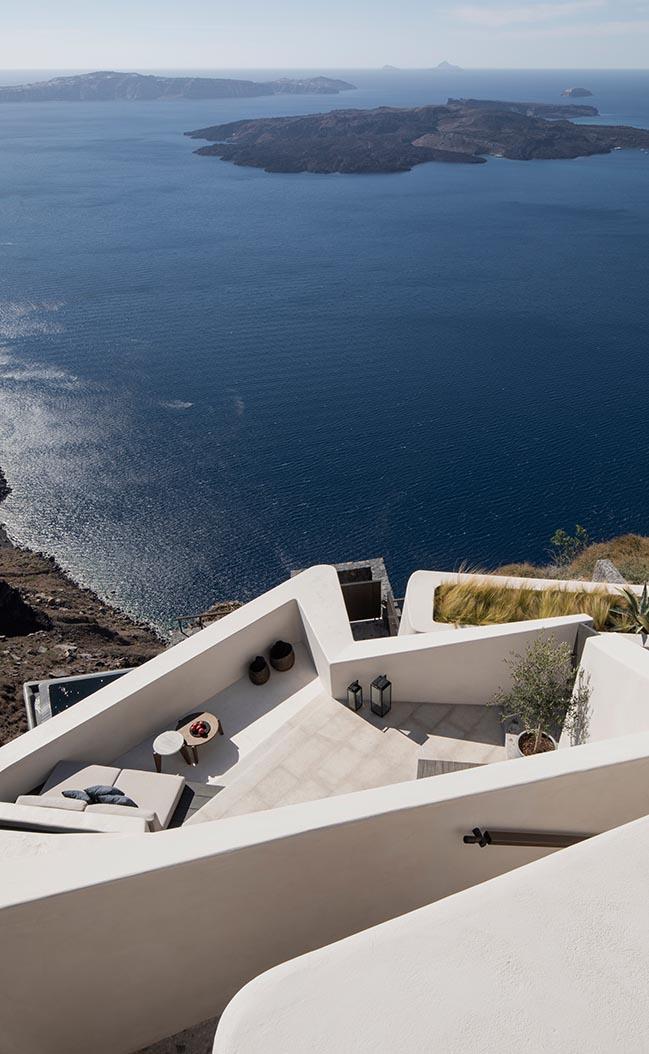 Vora Villas in Santorini by K-Studio