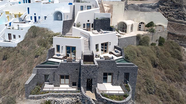Vora Villas in Santorini by K-Studio