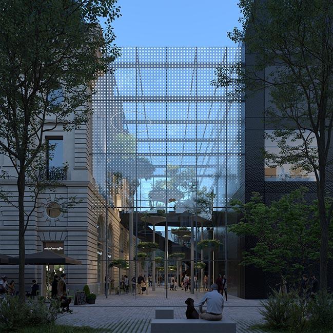 Rennes Palais Du Commerce by MVRDV