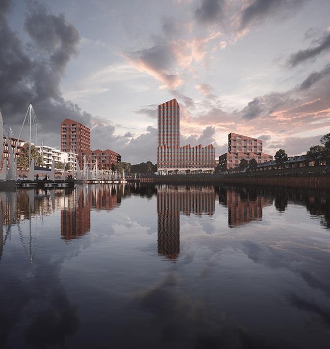 COBE designs 77,000 m2 mixed-use building in Bremen
