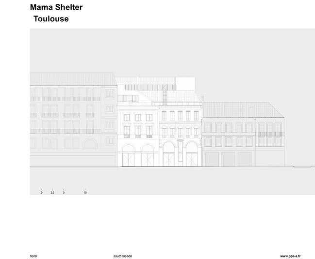 Hotel Mama Shelter Toulouse by ppa • architectures