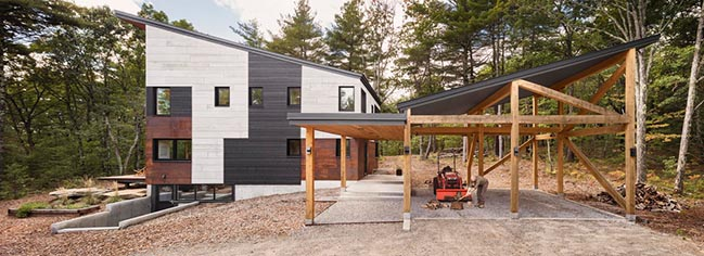 Blackwood House in Falmouth by Kaplan Thompson Architects