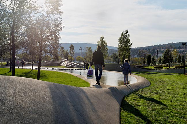 Koper Central Park by ENOTA Architects