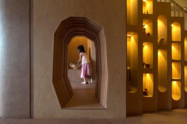 Wondrous Light Children's House by CHANG Architects