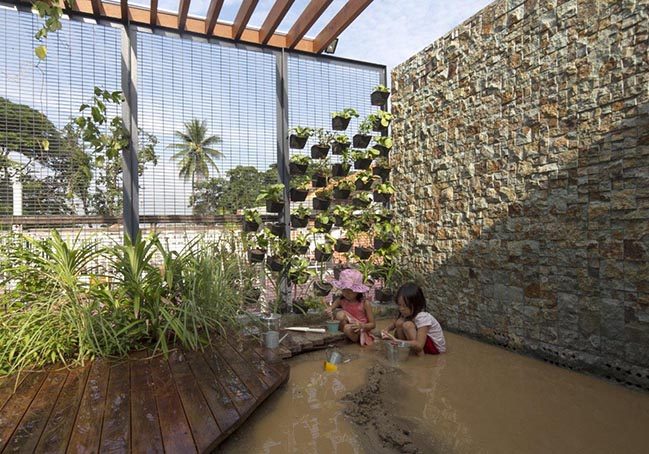 Wondrous Light Childrens House by CHANG Architects