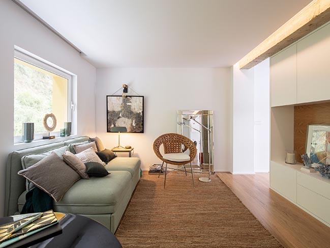 52m2 flat in San Esteban de Pravia by David Olmos Arquitectos