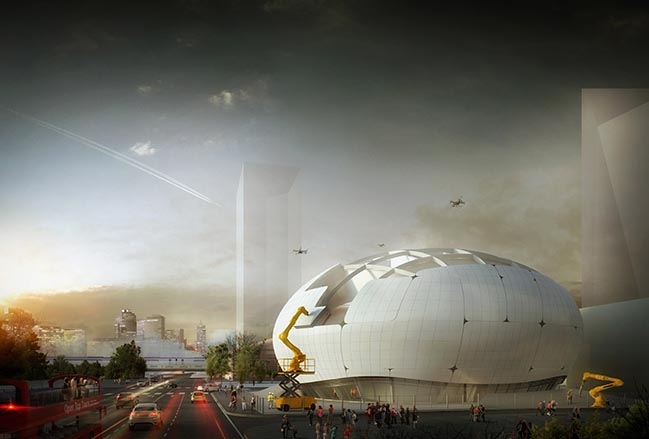 Robot Science Museum in Seoul by Melike Altınışık Architects