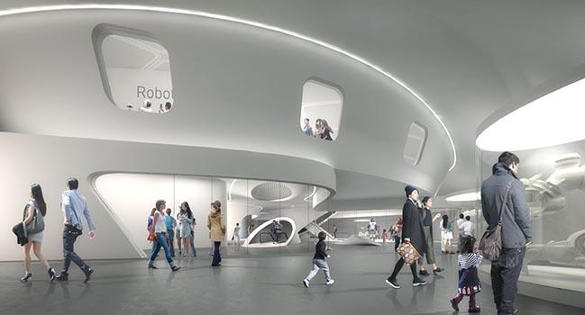 Robot Science Museum in Seoul by Melike Altınışık Architects