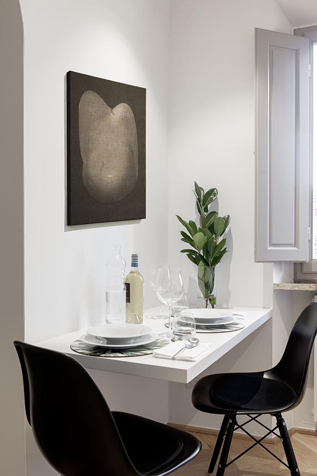 Flat Eleven: comfort and functionality in 50 sqm by Pierattelli Architetture