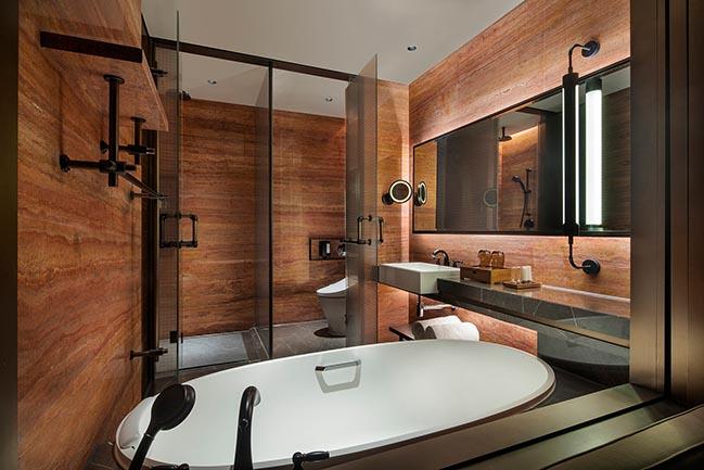 Interior design of InterContinental Shanghai Wonderland Hotel by CCD / Cheng Chung Design (HK)