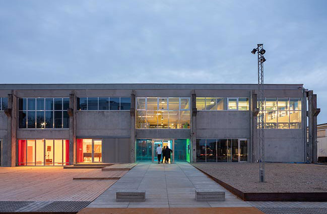 Roskilde Festival Folk High School designed by COBE and MVRDV is completed