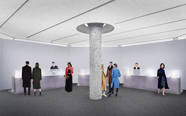 OMA / Shohei Shigematsu expands and reimages Sotheby's New York HQ