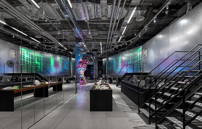 UPAR Flagship Store Lighting Design by GD-Lighting Design