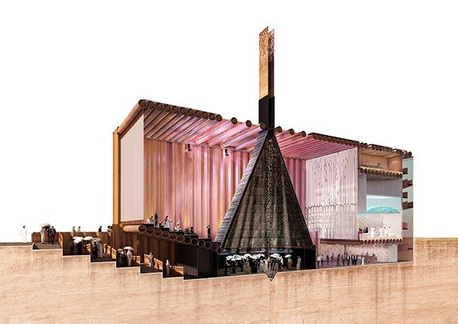 Dutch Pavilion for Dubai Expo 2020 by V8 architects