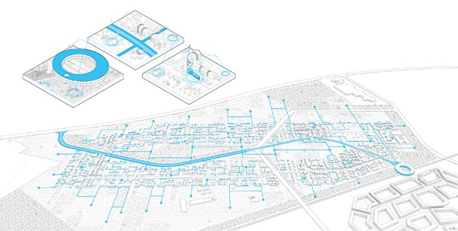 UNStudio designs a flexible spatial plan for The Smartest Neighbourhood in the World
