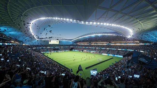 Sydney Football Stadium by Cox Architecture
