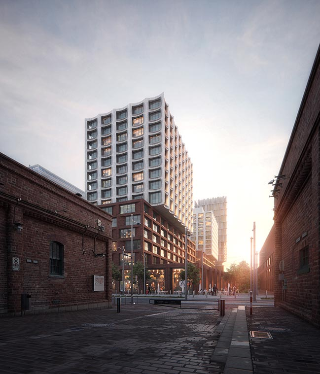 COBE designs affordable housing in downtown Toronto