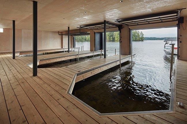Muskoka Boathouse by Akb Architects