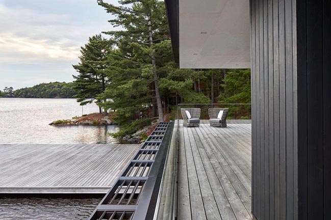 Muskoka Boathouse By Akb Architects
