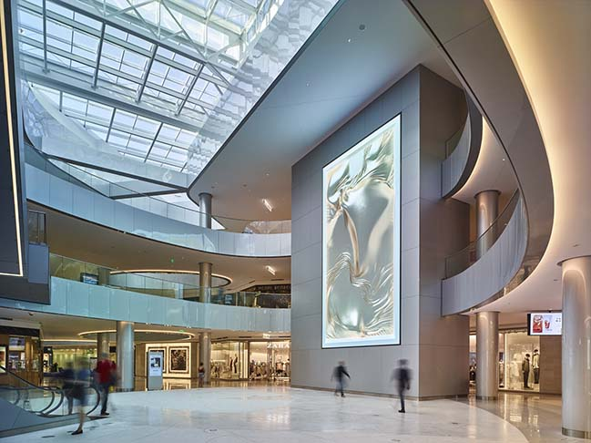 The Beverly Center renovated by Studio Fuksas