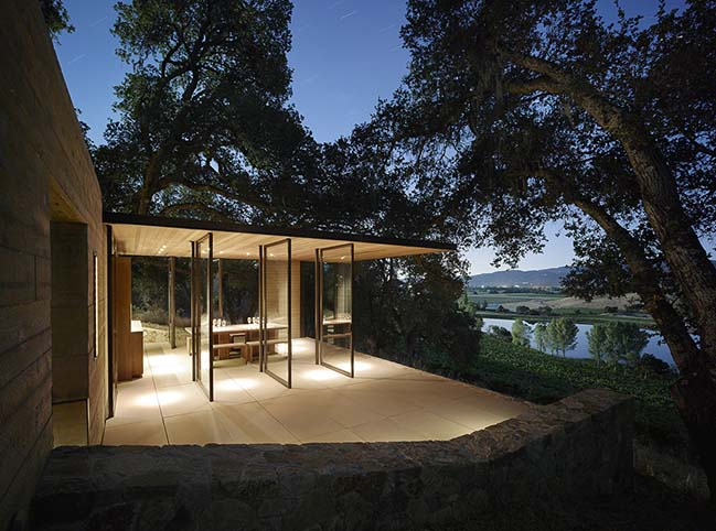 Quintessa Pavilions by Walker Warner Architects