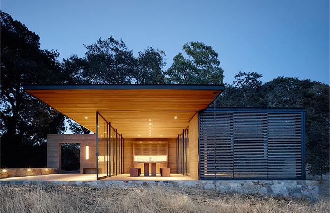 Quintessa Pavilions by Walker Warner Architects