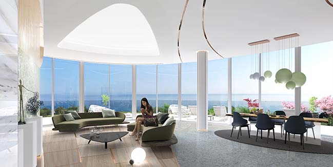Sixty6 Tower by Pininfarina