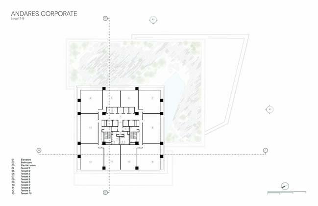 Andares Corporate Building by Sordo Madaleno Arquitectos