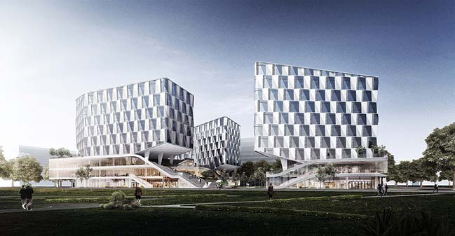 Whales Coming - GeTui Headquarters By LYCS Architecture