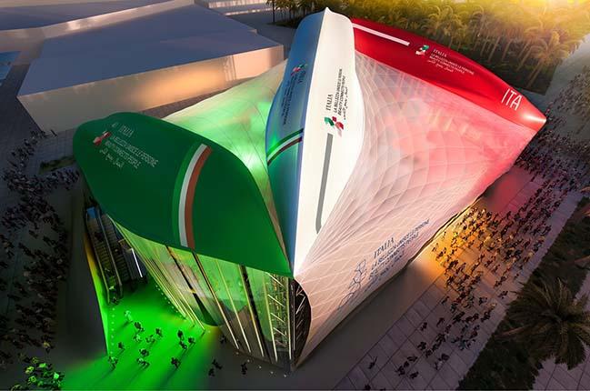 The Italian Pavilion at Expo Dubai 2020 by CRA-Carlo Ratti Associati