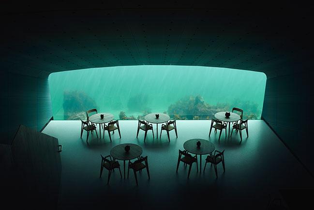 Snøhetta completes Europe's First Underwater Restaurant