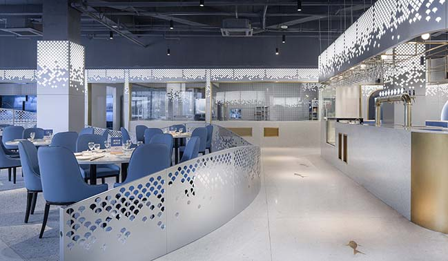 Shunfenglou Seafood Restaurant by TOPOS DESIGN CLANS