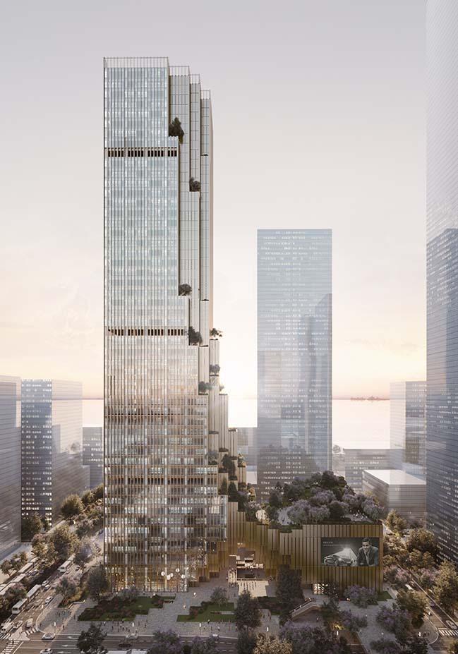 Hengli International Headquarters in Shenzhen by Mecanoo