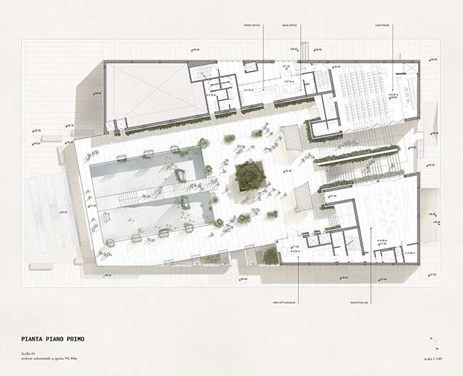 Dodi Moss designs Italian Pavilion for Expo Dubai 2020 Competition