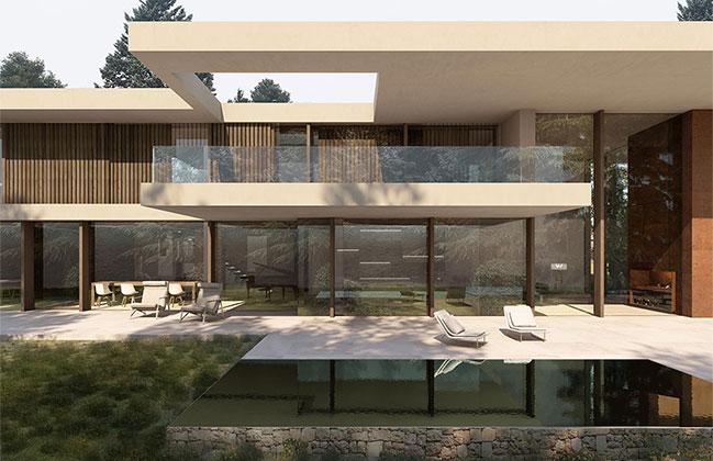 Paronama House by Ramón Esteve Estudio