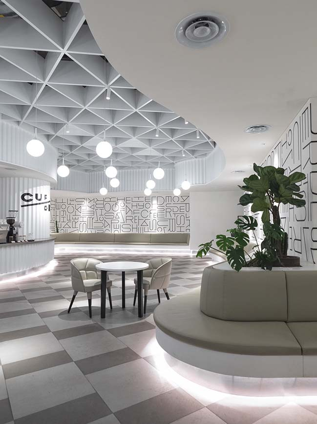 Cup/One café in Beijing by Latitude Architectural Group