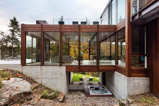 Residence Dans lEscarpement by YH2 Architecture